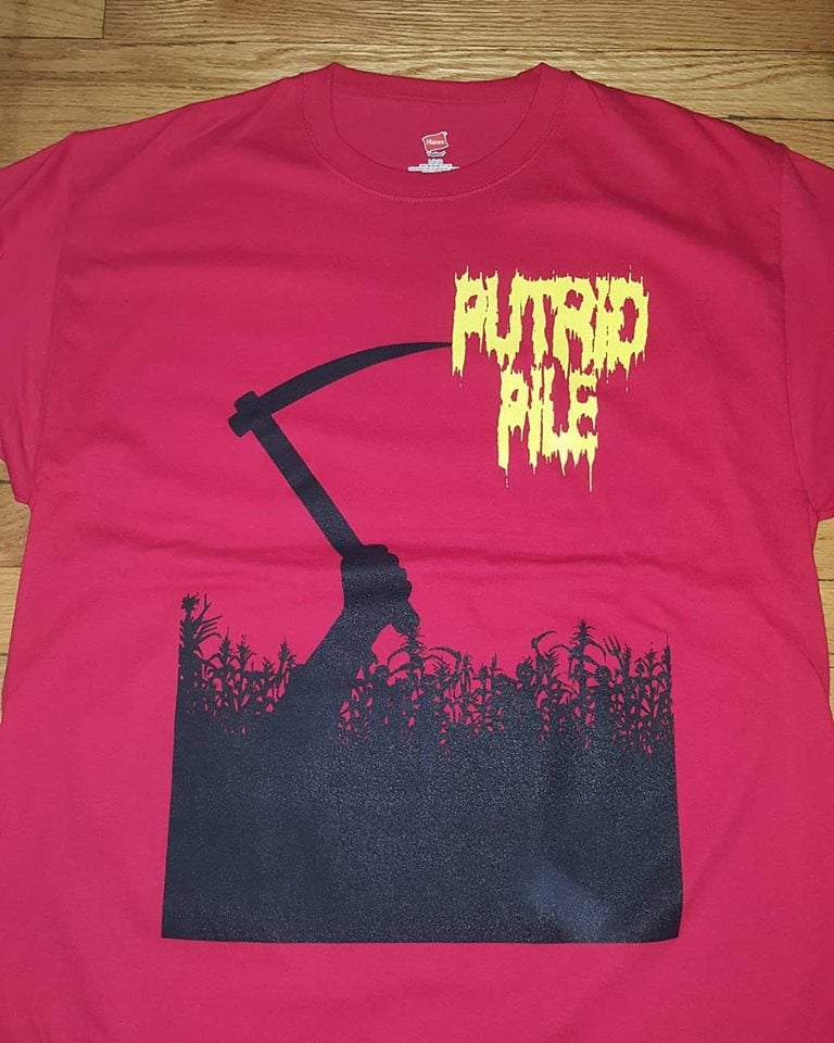 Image of PUTRID PILE CHILDREN OF THE PILE T SHIRT (IN STOCK)