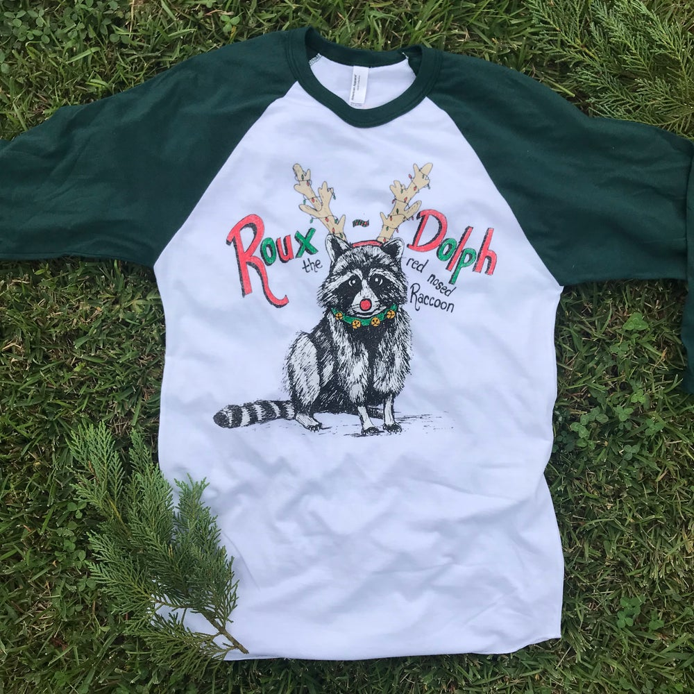 Image of Adult Roux-Dolph Raglan with Evergreen Sleeves