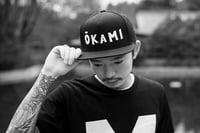 Classic logo snapback - Okami