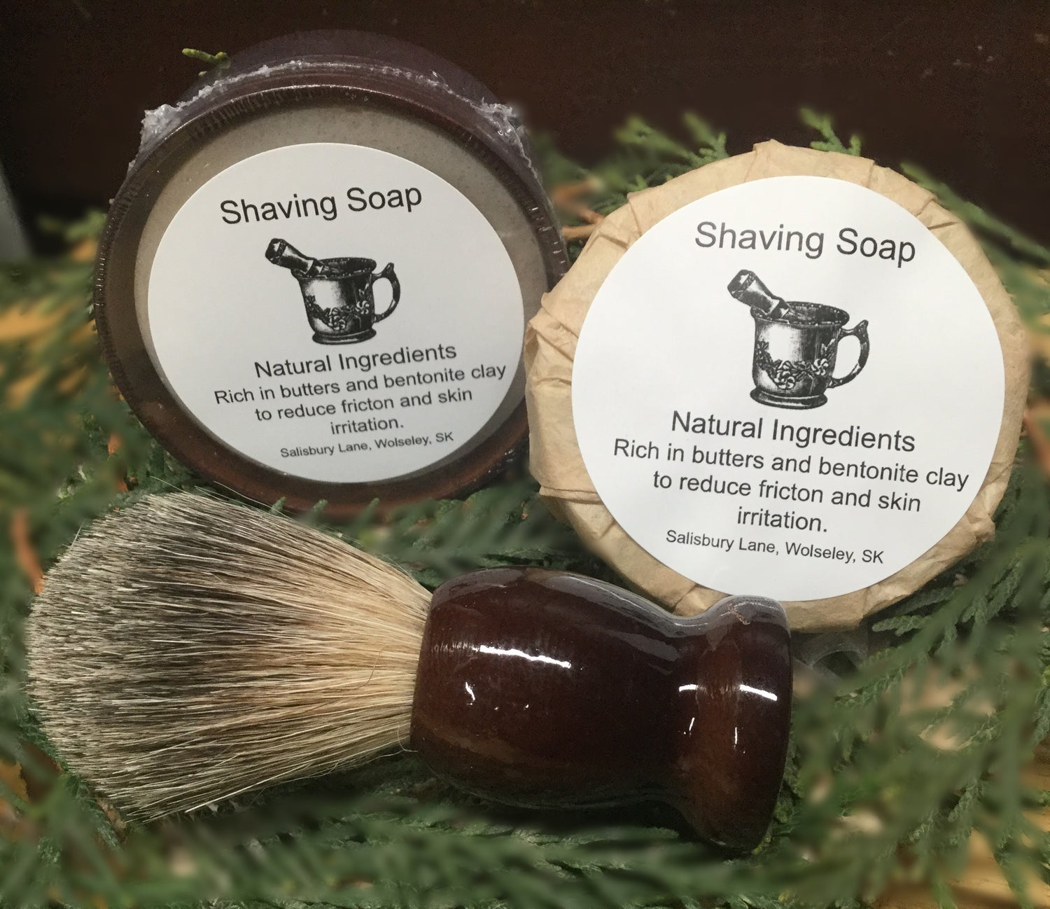 Image of Old Fashion Shaving Soap