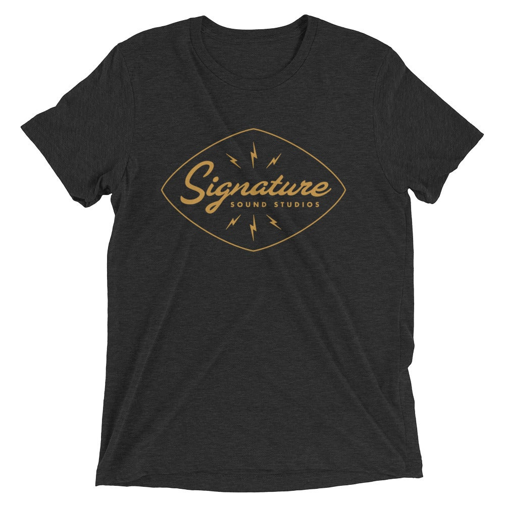 Image of Signature Sound Tee (Charcoal Triblend)
