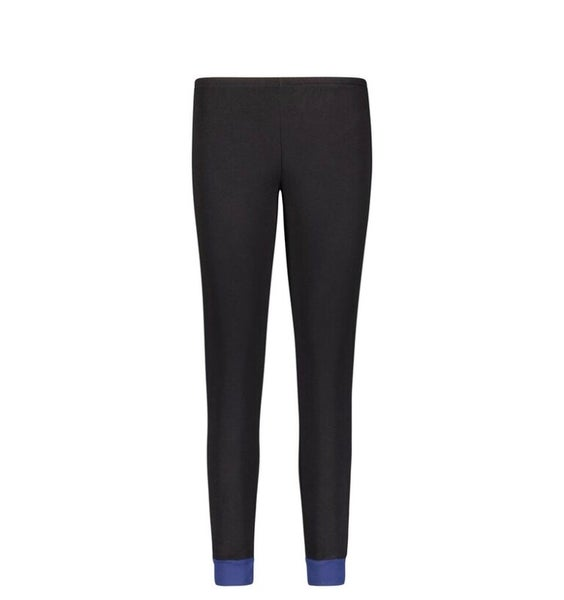 Image of Black/Blue jogger pant