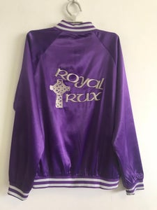 "Image of ROYAL Purple Fergadelic ROYAL TRUX ""satin"" TOUR JACKET"