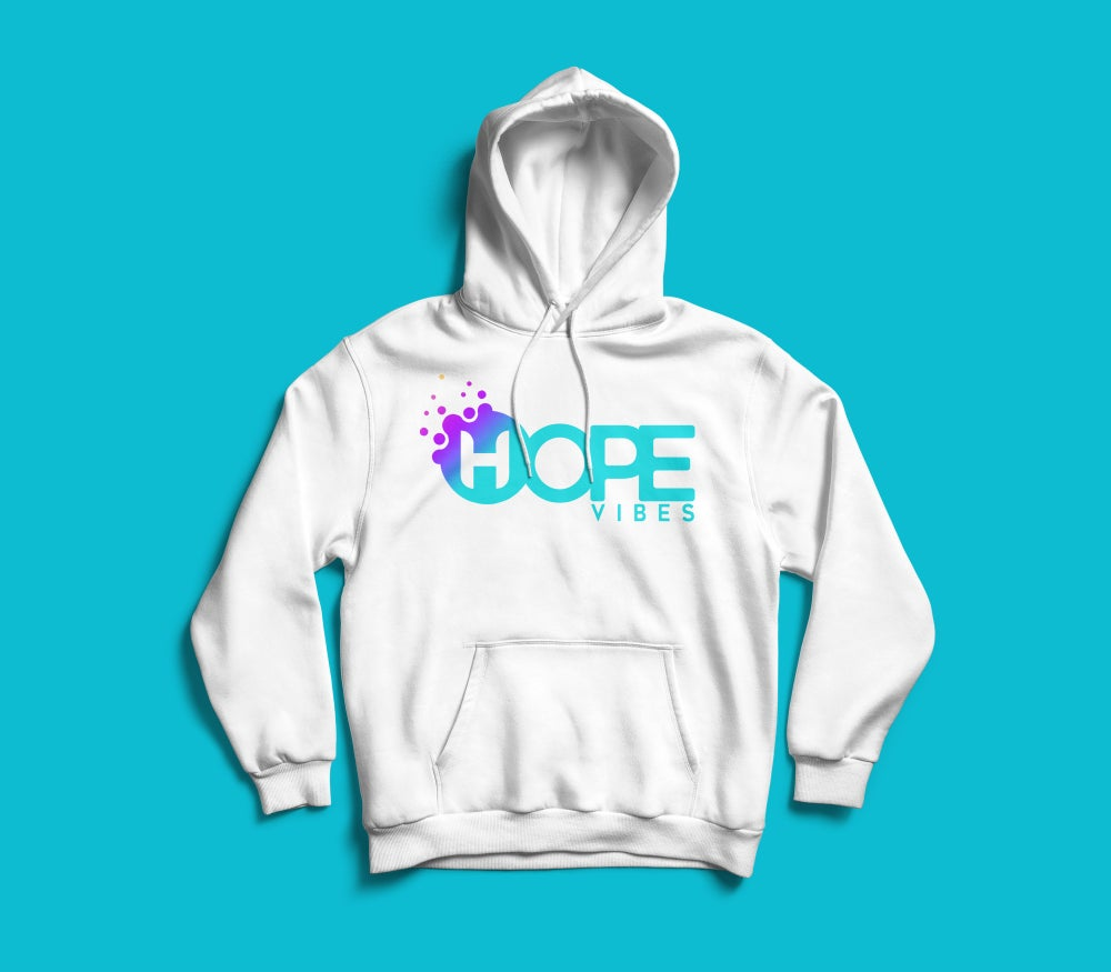 Image of Hope Vibes Logo Hoodie