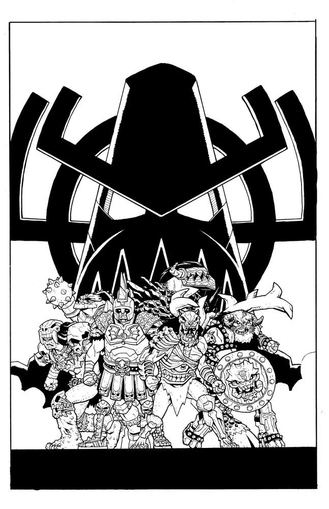 Image of GWAR: THE ENORMOGANTIC FAIL Original Cover Art