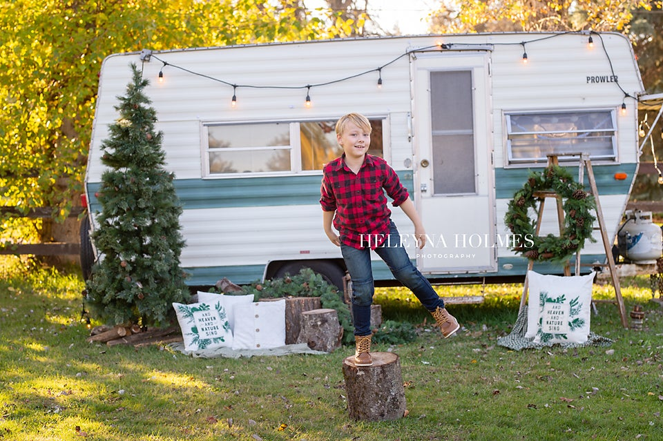 Image of Wild Hearts Farm - Vintage Trailer