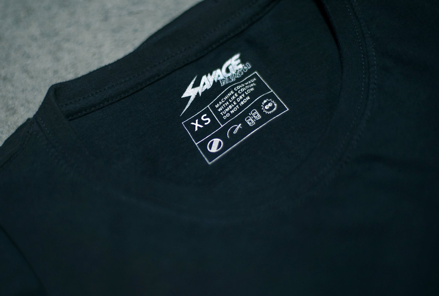 Image of SAVAGE Tee - The Original Black