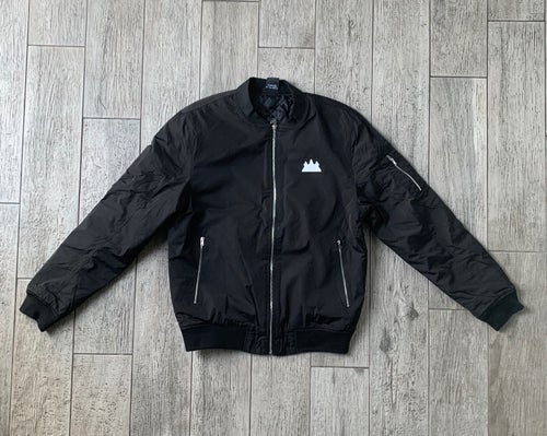 Image of Men's Slim Fit Bomber Jacket