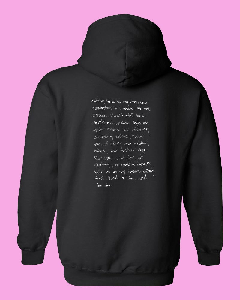 Image of Black Johnny's Bad Dream Hoodie