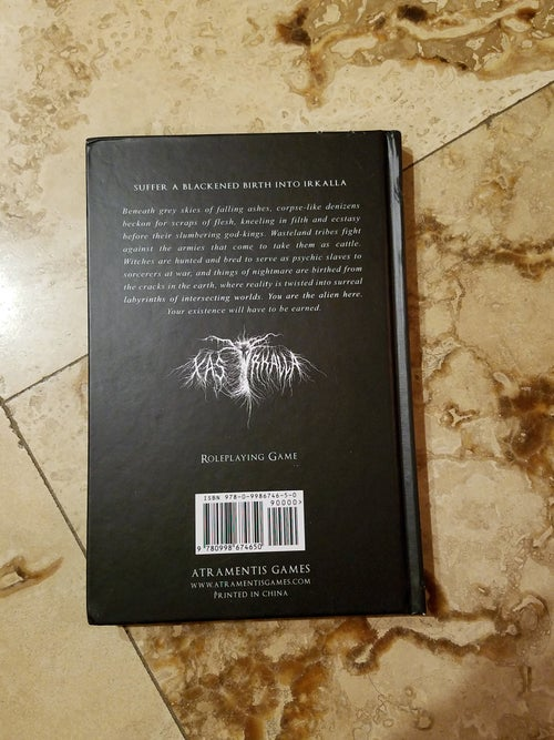 Image of POOR CONDITION Xas Irkalla hardcover - Discounted Price