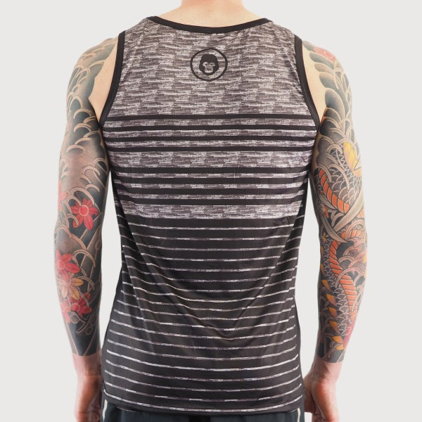 Men's Midnight Active Singlet - mekong