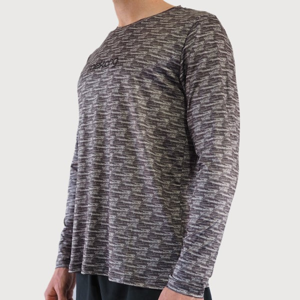 Men's Midnight Active Long Sleeve Tee - mekong
