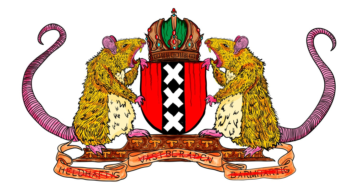 Image of The Honest Amsterdam Crest