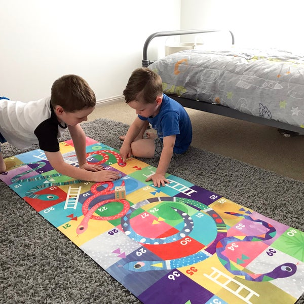 Image of Snakes & Ladders Floard Game HALF PRICE