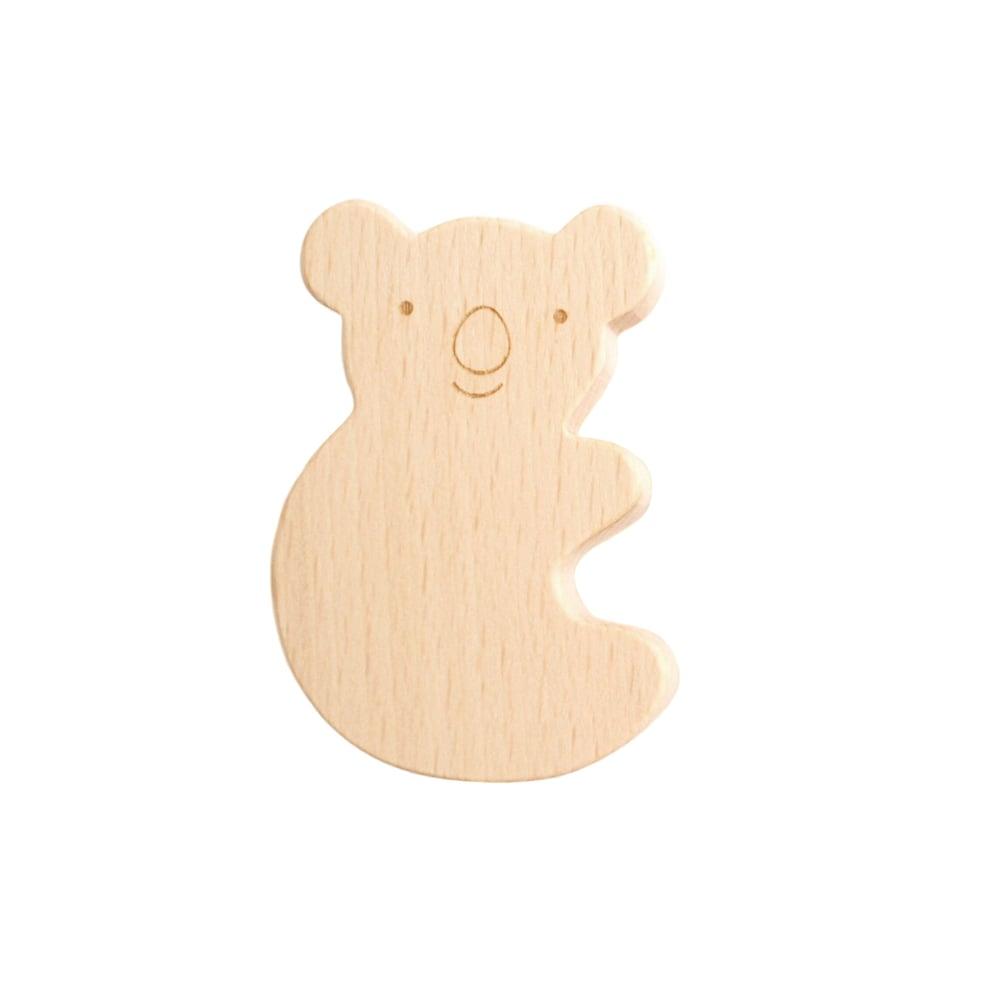 Image of Patère Koala en bois de hêtre