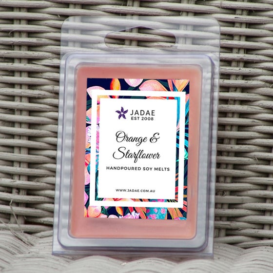 Image of Orange & Starflower Clamshell Soy Melts