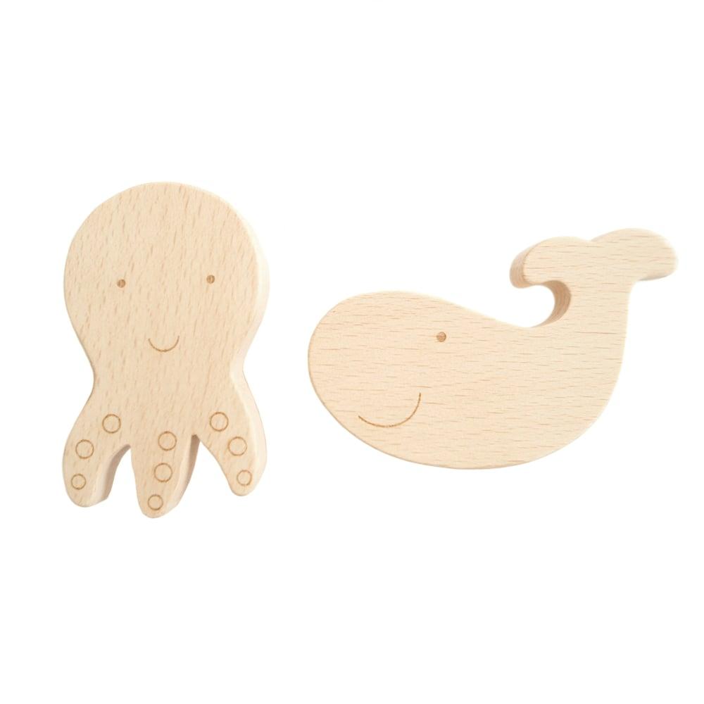Image of Duo Marin en bois de hêtre