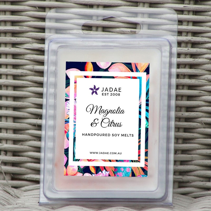 Image of Magnolia & Citrus Clamshell Soy Melts