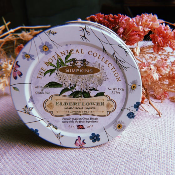 Image of Elderflower Flavour Travel Sweets