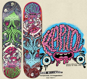 Image of DREW MILLWARD SKATEBOARD