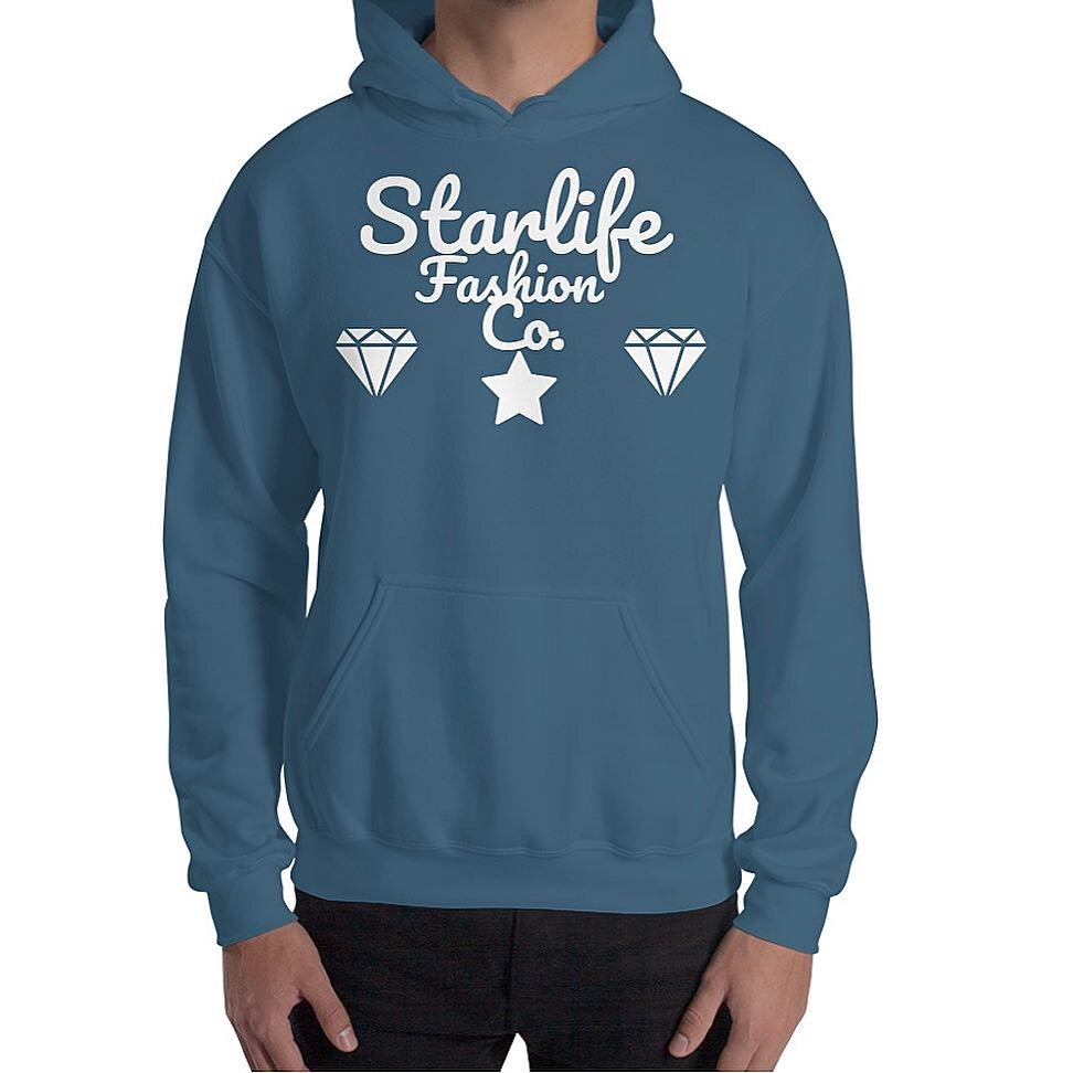 Image of Starlife Indigo Blue Hoodie