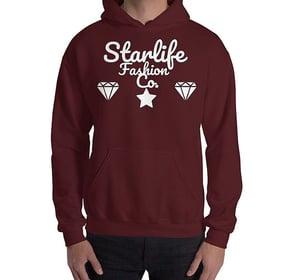 Image of Starlife Maroon Hoodie