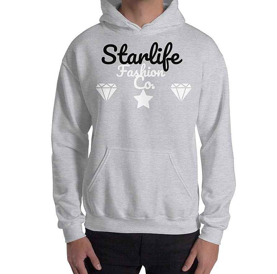 Image of Starlife Grey/Black Hoodie