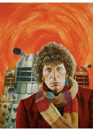 Image of Doctor Who A2 poster