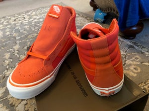 Image of Vans x Undefeated UNDFTD - OG Sk8-Hi LX (UNDFTD / LOGO) orange