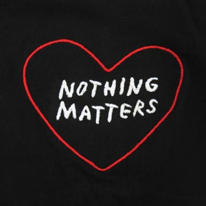 Image of NOTHING MATTERS Embroidered T-Shirt