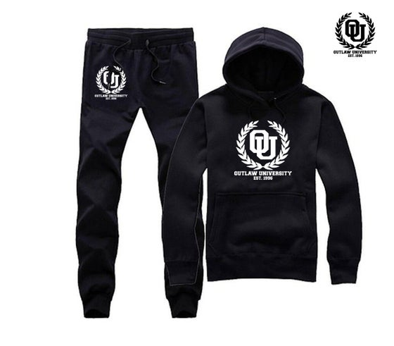 Image of OU Unisex Sweatsuit - Comes in Black, Grey, Navy Blue, Red