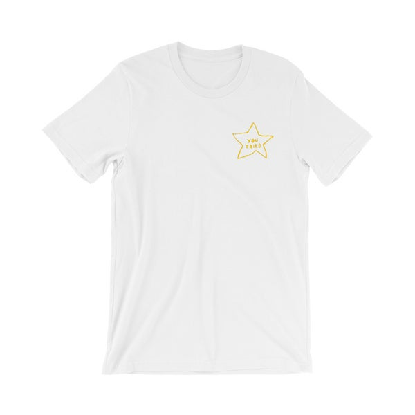 Image of YOU TRIED Embroidered Shirt