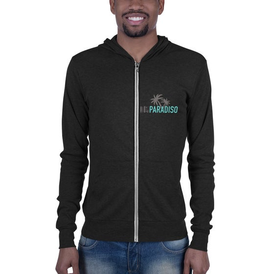 Image of Palm Tree Lightweight Unisex Hoodie