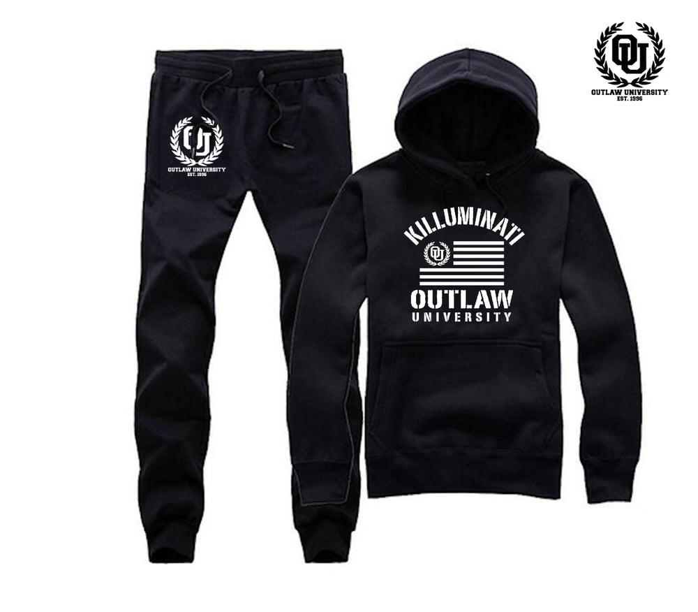 Image of Killuminati Uni Unisex Sweatsuit - Comes in Black, Grey, Navy Blue, Red
