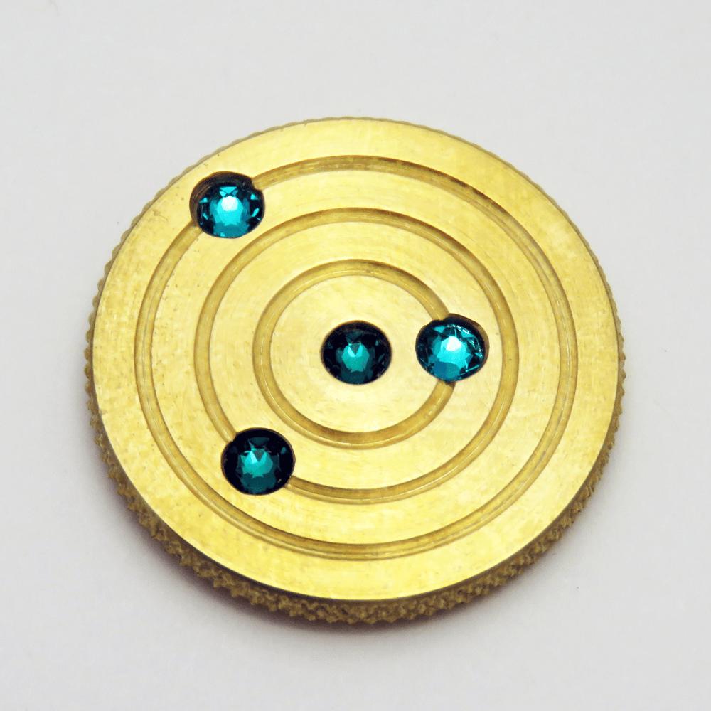 Image of Brass Orbit Pins #1, #2, #3, #4