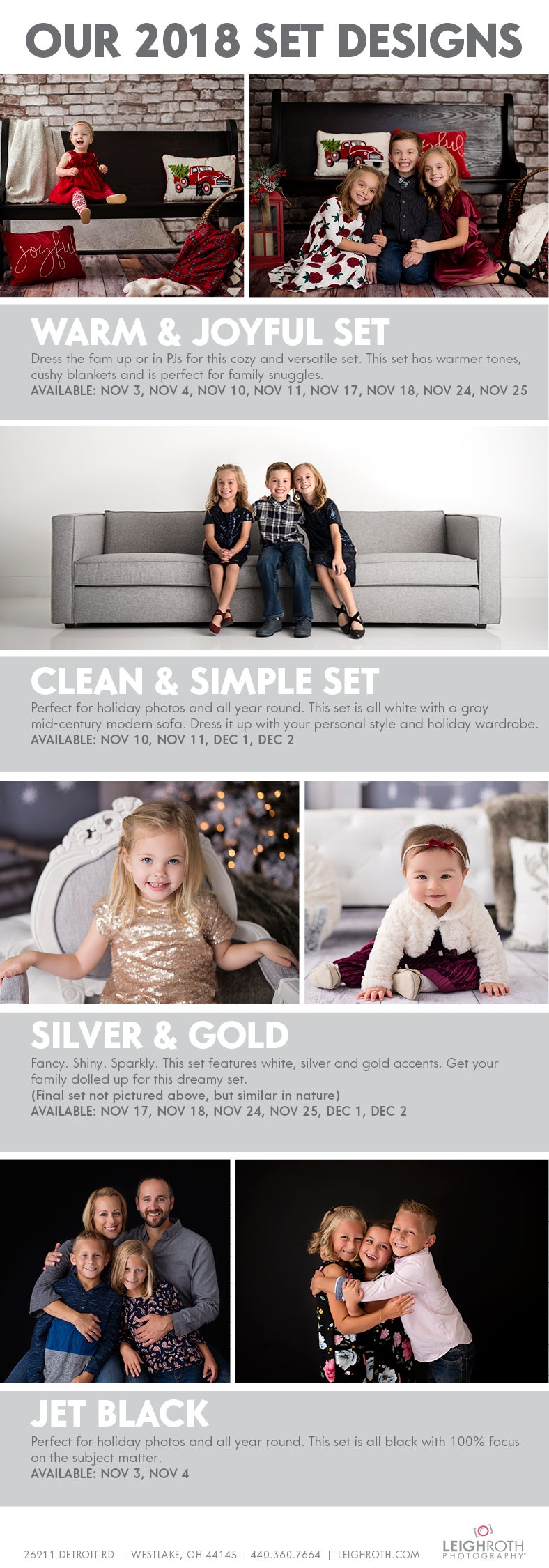 Image of HOLIDAY MINI SESSIONS - SATURDAY, NOVEMBER 24 with Leigh