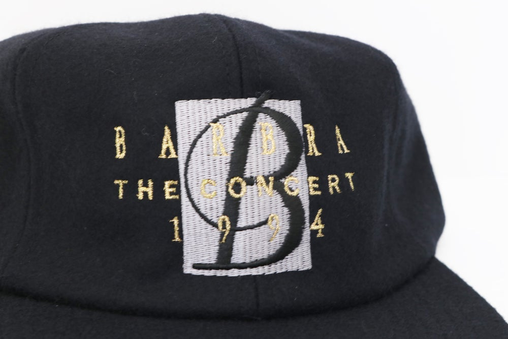 "Image of Vintage 1994 Barbara Streisand ""The Concert"" Music Tour Hat"
