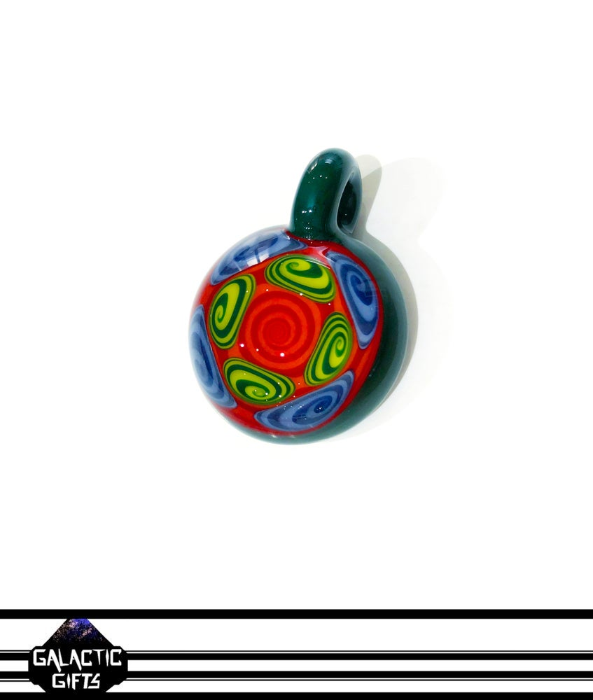 Image of Kaja Glass Thumb Print Pendant