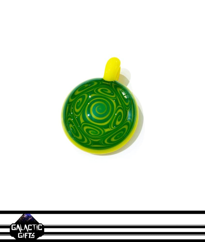 Image of Kaja Glass Citrus Thumb Print Pendant