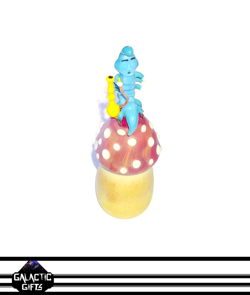 Image of Clinton Roman Custom Absolem Blue Caterpillar Dome Set