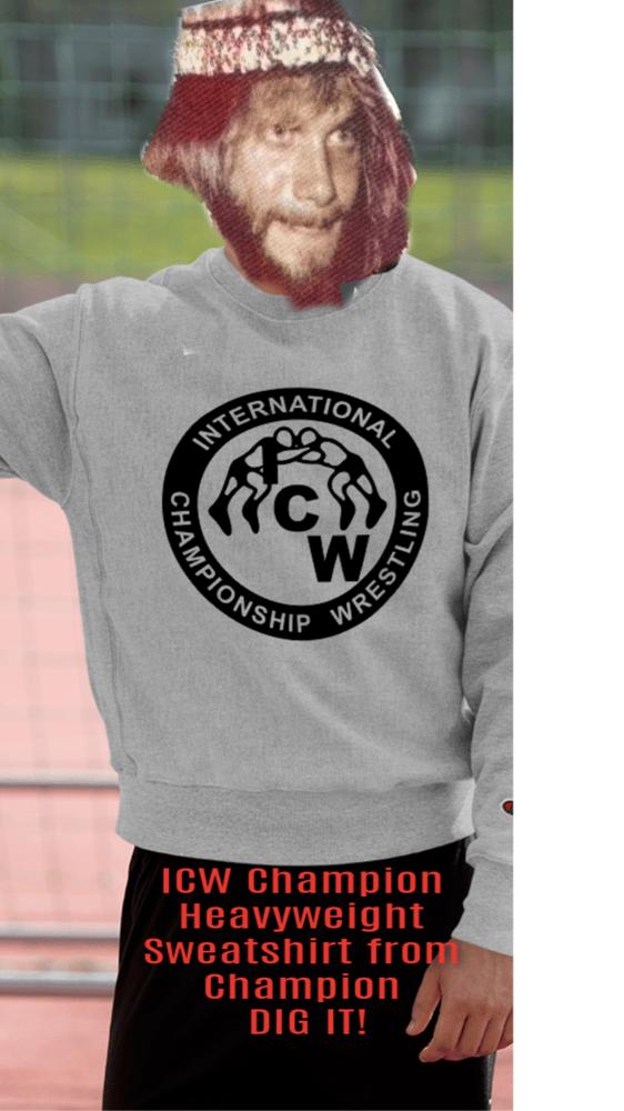 Image of ICW Champion Heavyweight Sweatshirt
