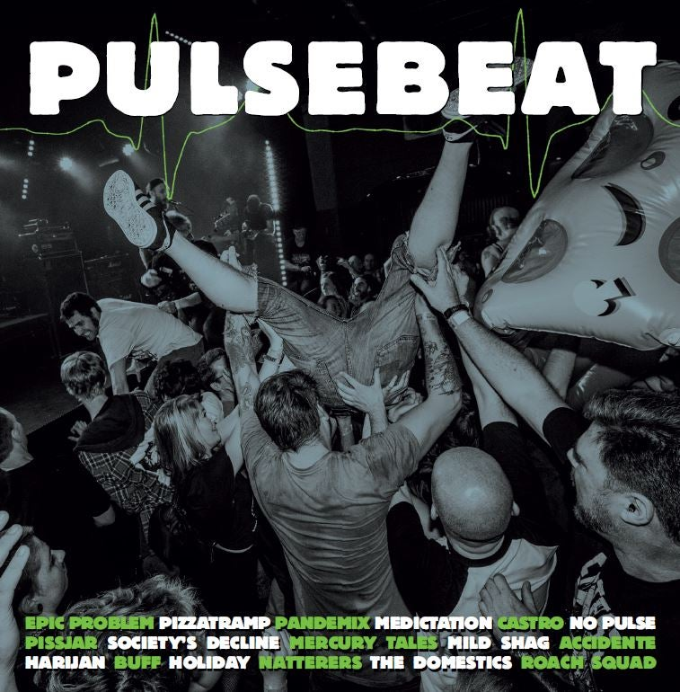 Image of VARIOUS ARTISTS - PULSEBEAT COMP LP