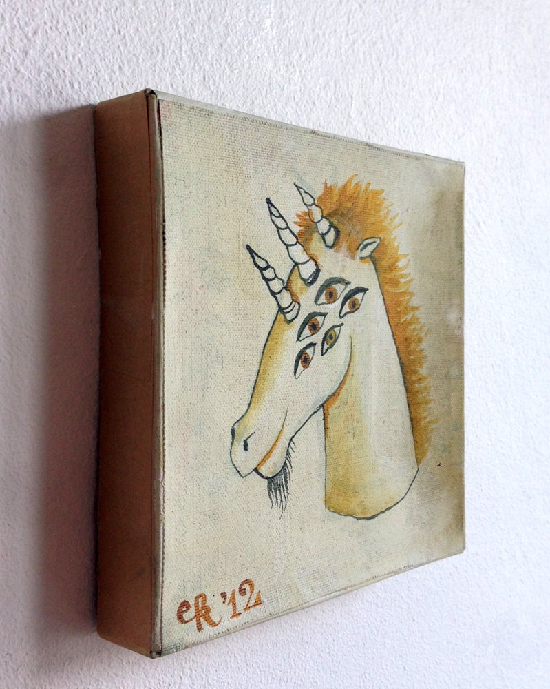 "Image of Original Painting ""Dreihorn"""