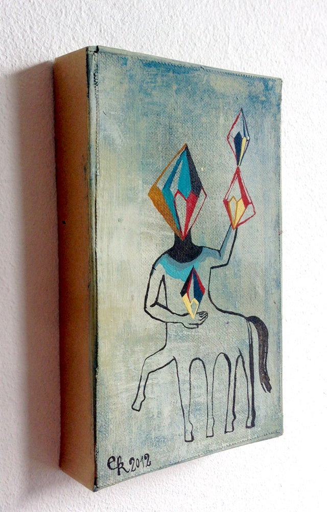 "Image of Original Painting ""Ritter"""