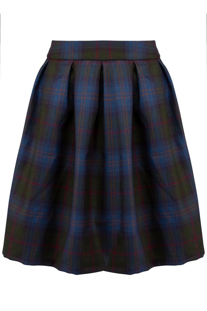 Image of Ternet uld nederdel