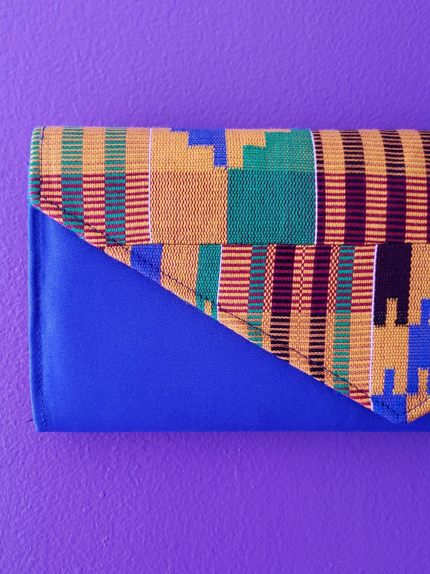Image of Nkrumah Long Woven Clutch Bag