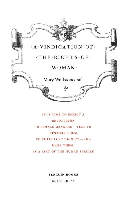 Image of A Vindication of the Rights of Woman
