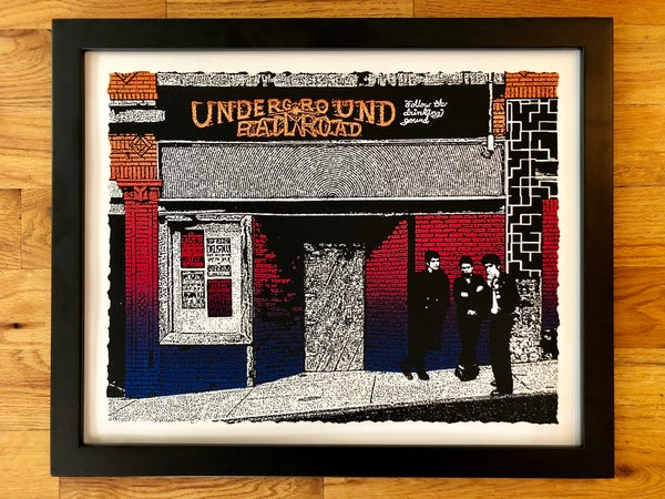 Image of Underground Railroad, Morgantown WV Art Print