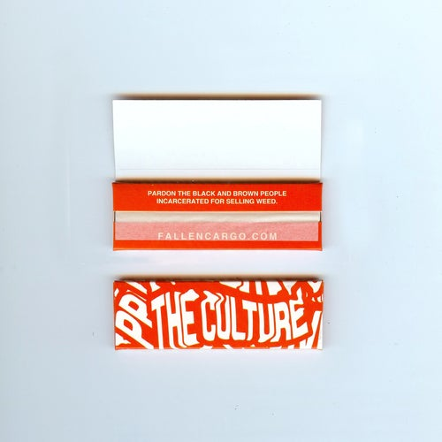 "Image of ""Pardon Us"" rolling papers"