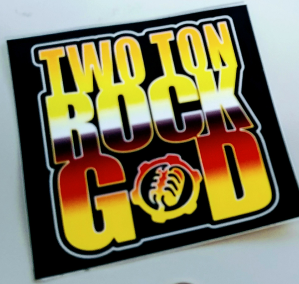 Image of TTRG LOGO 4X4 STICKER